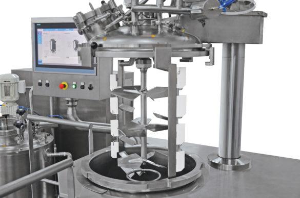 Trimix mixing platform
